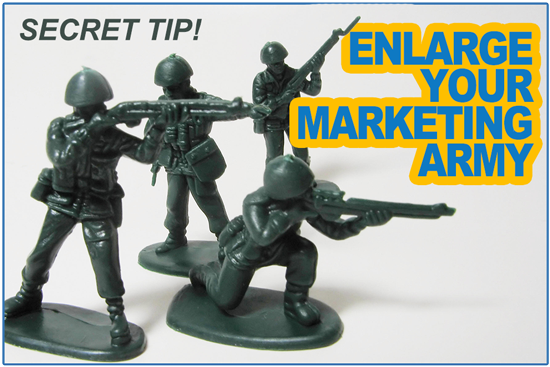 Enlarge your Christian school's marketing army with this little secret