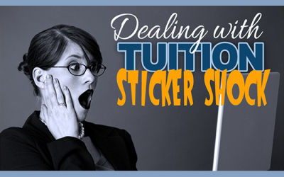 Helping parents deal with tuition sticker shock
