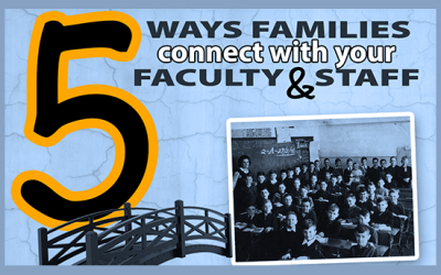 Your faculty represent the face of your school. How do you represent them?