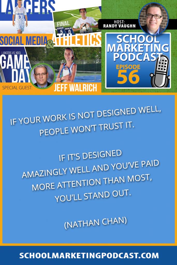 Marketing your athletic program with @CoachWalrich @GALancerAD (podcast #56)