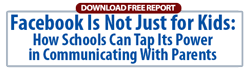 FREE REPORT:  Facebook and Private Schools