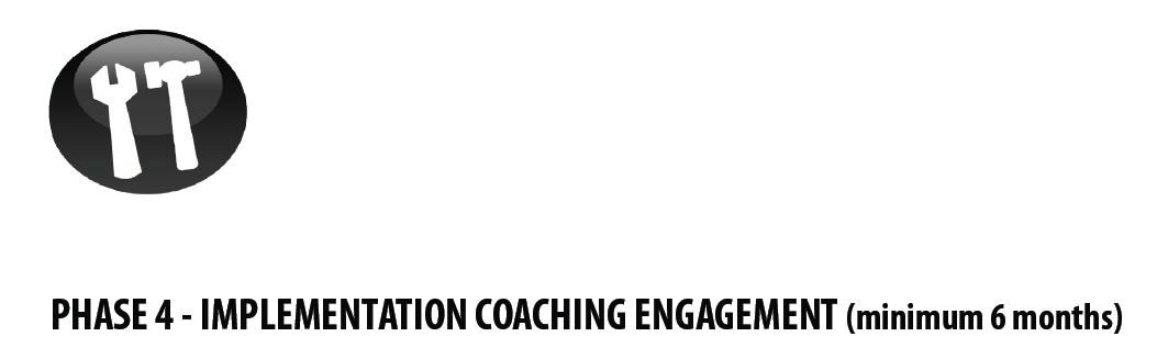 School Marketing - Phase 4 - Implementation Coaching Engagement