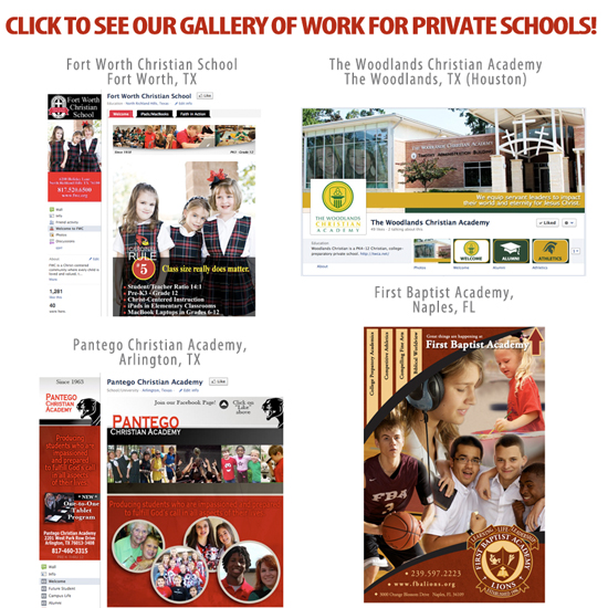 Click to view our gallery of work for private schools