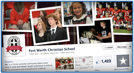 Christian School Marketing - Timeline Cover Photo