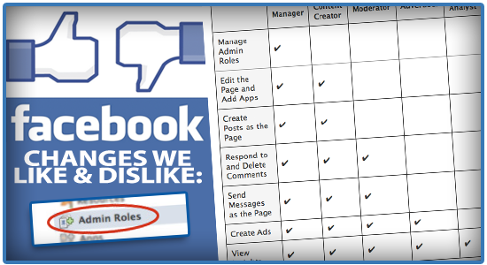 Facebook Changes: Admin Roles - Why They Won't Help Your Private School