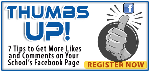 Thumbs Up! Get More Likes & Comments on Your School's Facebook Page