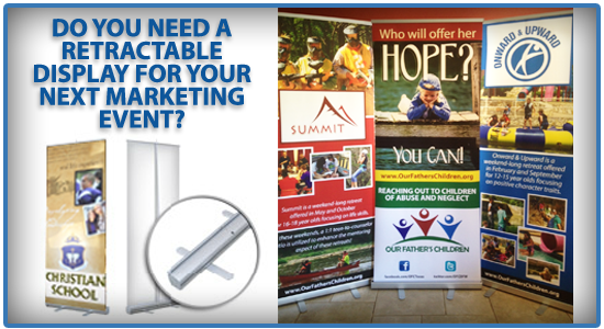 Need A Retractable Display for Your Next School Marketing Event?