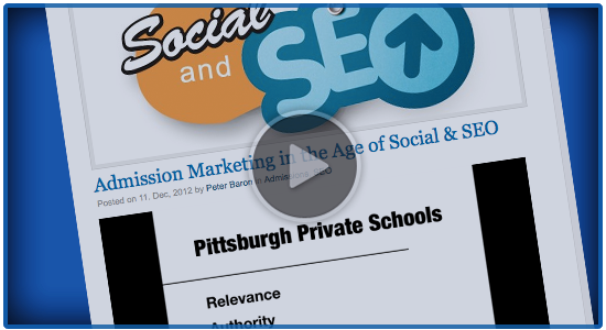 Admission Marketing in the Age of Social & SEO: WhippleHill.com