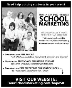 HOPE - Advertisement - Christian School Marketing - Oregon