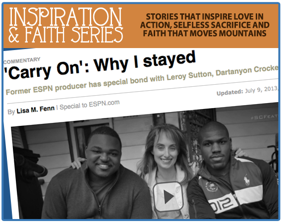 "INSPIRATION: ""Why I Stayed"" from Christian School Graduate and Former ESPN Producer Lisa Fenn"