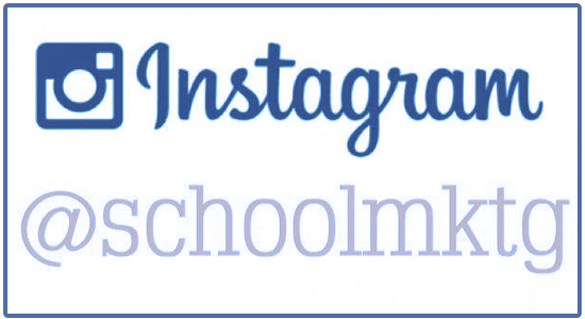 School marketing ideas on Instagram #ismarketing
