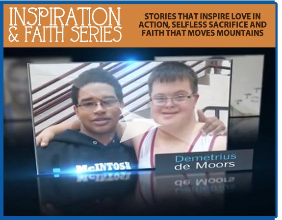 Christian school marketing inspirational story - wrestler sportsmanship