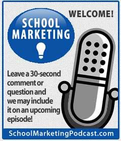 Do you have a question about marketing your school?  Leave us a voicemail!