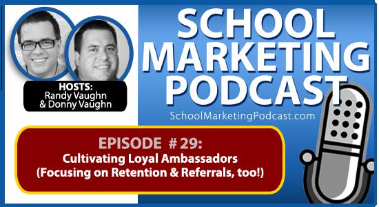 School marketing podcast #29: Retention, Referrals & Amy Grant