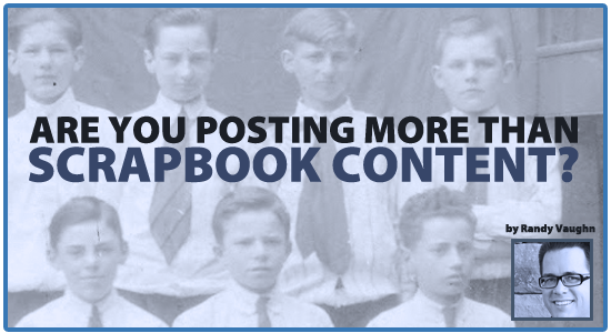 What are you posting on your Christian's school's Facebook page? Are you just posting SCRAPBOOK CONTENT? Why you should stop it now!