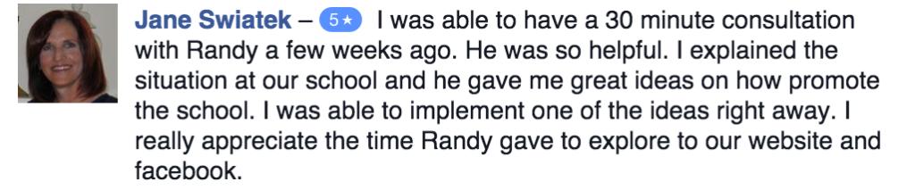Review of Randy Vaughn
