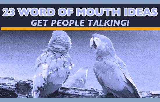 Christian school marketing - word of mouth marketing ideas