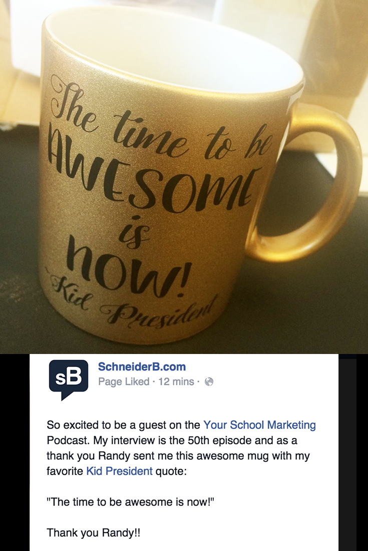 Using Webinars in Marketing Your School (podcast #50 with @schneiderb)