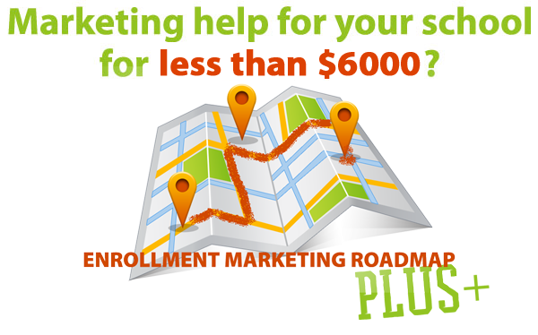 Enrollment marketing roadmap
