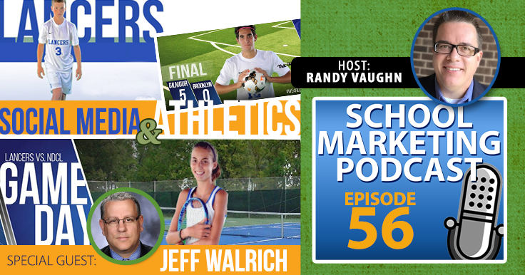 Marketing your athletic program with @CoachWalrich @GALancerAD (podcast #56)