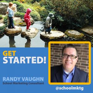Get started! Randy Vaughn