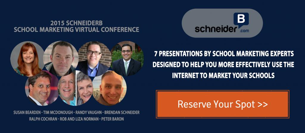 @SchneiderB School Marketing Virtual Conference