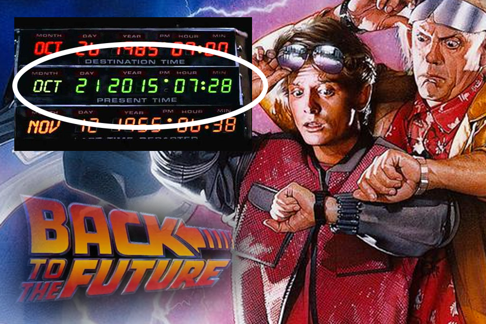 Back to the Future Day #bttf2015 @backtothefuture