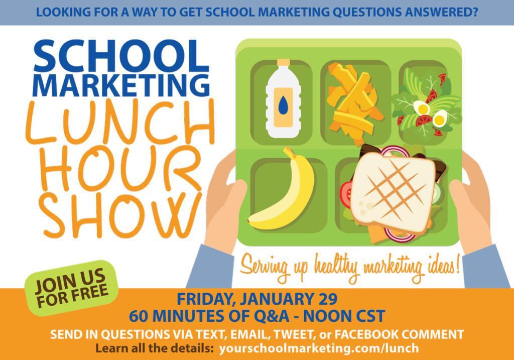 School Marketing Lunch Hour Show with Randy Vaughn @schoolmktg