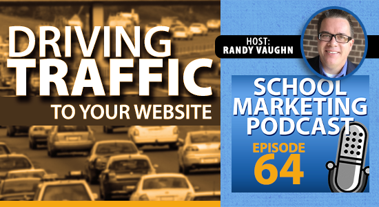 Driving traffic to your website with great content (podcast #64)