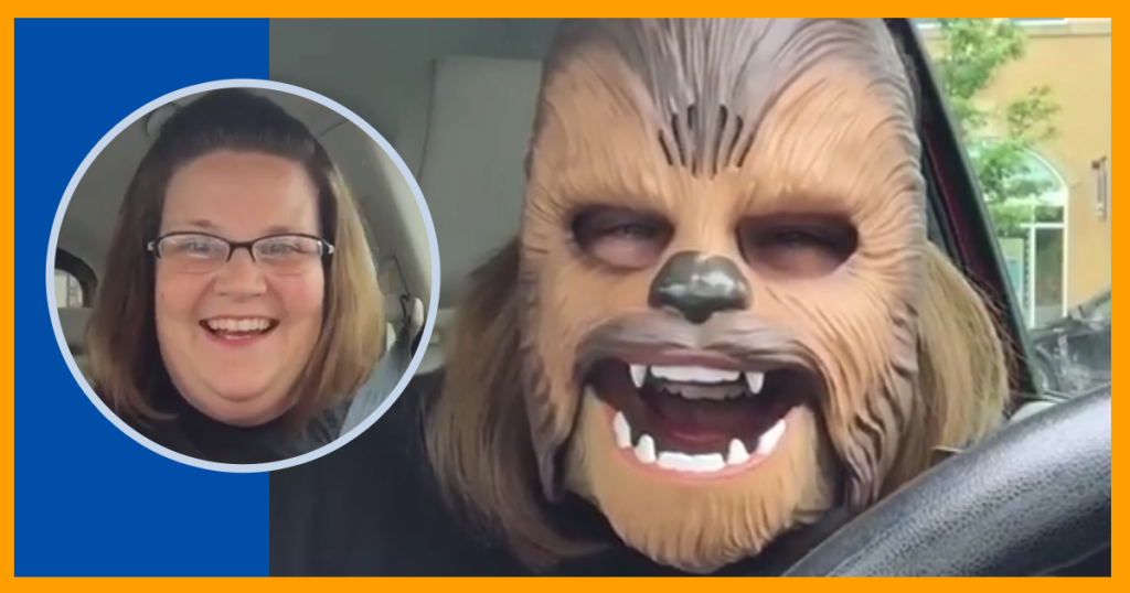 5 lessons the Chewbacca Lady can teach your school about marketing
