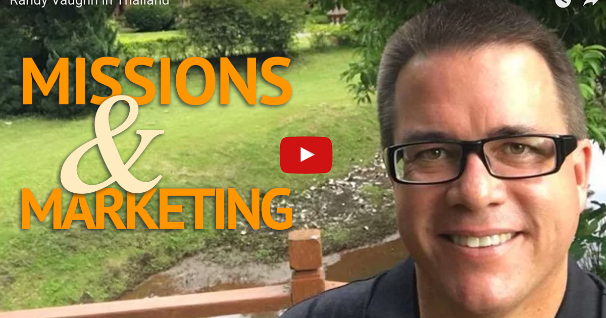 Missions and Marketing: Christian School Marketing - Randy Vaughn