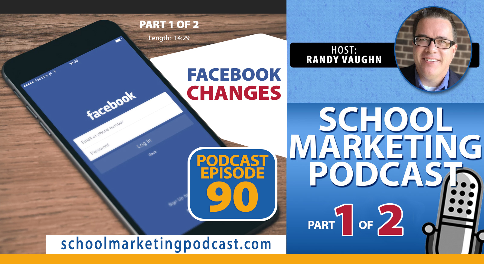 Panic or Peace: How to React to the Latest Facebook Changes for Your School - Part 1 of 2 (School Marketing Podcast #90)